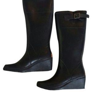 Michael Kors Black Splash Boots/Booties